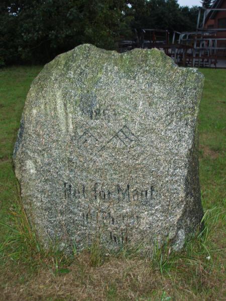 Genforeningssten i Hønning by, Arild sogn, Tønder kommune